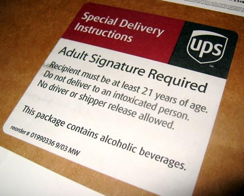 UPS Label
